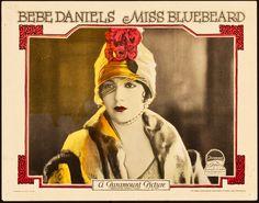 """Bebe Daniels in """"Miss Bluebeard"""" (1925)"""