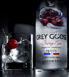 Grey Goose Cherry- Mix with Dr. Pepper...ummmyeah???