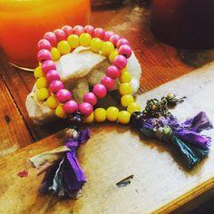 Prayer mala bracelets Meditation bracelets by TriquetraBoutique