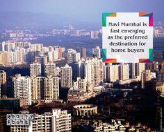 """Navi Mumbai is fast emerging as the preferred destination for home buyers in the Mumbai Metropolitan Region (MMR). http://www.realtyfact.com/navi-mumbai-preferred-homebuyers-mmr-cbre/"""