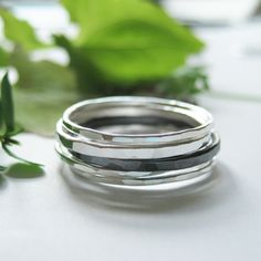 My silver jewellery collection Ilma-rings. Silver Jewelry, Silver Rings, Jewelry Collection, Color, Sparkle, Jewellery, Design, Inspiration, Fashion