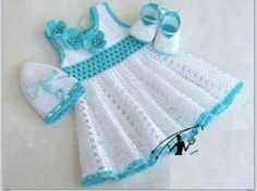 Baby crochet dress/outfit