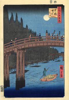 The Bridge, Hiroshige