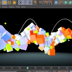 Animate Objects Along A Spline In Cinema 4D - Motion And Design
