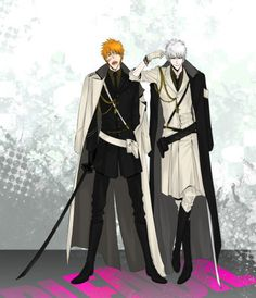 Ichigo and Hollow Ichigo  Bleach