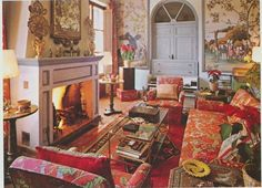 Duarte Pinto Coelho –  old photos of his country home in Trujillo, Spain. Published in Architectural Digest Country Homes (1982), the home, built and designed by Coelho, is elegant, layered, and comfortable-