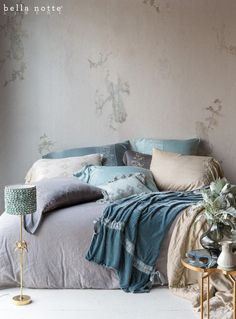 All relaxed and machine washable, our Satins and Silk Velvets are stunning in new collections Josephine and Sloan