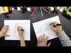 How To Draw A Toucan - YouTube