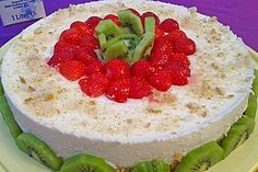Frischkäse - Kiwi - Torte