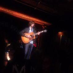 Matt Mcandrew performed on Friday at Cutting Room