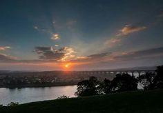 Sunset over the Royal Border Bridge 🌆