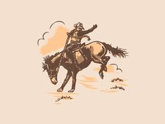 Cowboy by Matt Carlson - Dribbble Country Backgrounds, Cute Backgrounds, Cute Wallpapers, Cowboy Photography, Art Photography, Cowboy Art, Western Art, Art Inspo, Just In Case