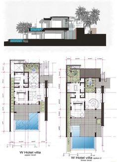 Unbelievable Modern Architecture Designs – My Life Spot Home Design Floor Plans, Home Building Design, House Floor Plans, Plan Design, Design Design, Detail Architecture, Hotel Architecture, Villa Design, Modern House Design