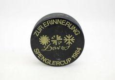 PUCK v. Spengler Cup 1984 / HC DAVOS / Jelmoli / Molino in Wetzikon ZH kaufen bei ricardo.ch