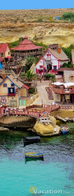 Popeye Village, Malta WorldVentures #1 travel club in the world. Make a living...living www.wegetpaidonvacation.com www.donklos.dreamtrips.com www.donklos.worldventures.biz