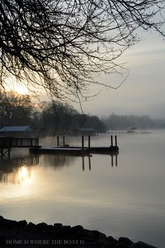 Winter Lake Beauty | Home is Where the Boat Is