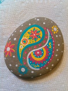7/17 #mandala #art #rocks More