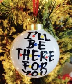 I'll be there for you Friends Christmas ornament- fun white elephant gifts christmas gifts for friends I'll be there for you Friends Christmas ornament- fun white elephant gifts Diy Christmas Gifts For Friends, Diy Holiday Gifts, Diy Christmas Ornaments, Xmas Gifts, Christmas Decorations, Fun Gifts, Ornaments Ideas, Christmas Figurines, Small Gifts For Friends