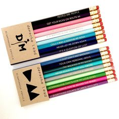 DEPECHE LEAD - 2 Pack! - Depeche Mode - blasphemous pencil sets - Vol. I & II…