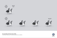 smart & funny really to go with brazil agencies !!  AlmapBBDO, São Paulo for Volkswagen