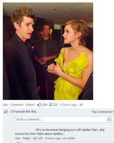 I like the comment, haha :)
