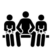 Check out manspreading icon created by Lorie Shaull