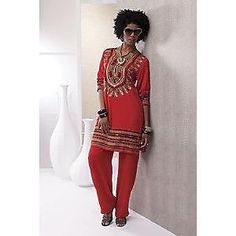 Ashro Fashions Clothing Sizes BLAZING GLORY ASHRO Red