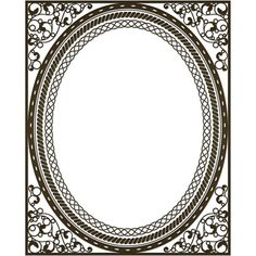 frame custom filigree ❤ liked on Polyvore featuring frames, backgrounds, borders and picture frame