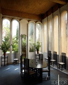 Elle Decor Concrete-Poetry-Ricardo-Bofill-Architecture