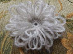 Flor Pétalos con Cadenas Ganchillo Crochet Chain Flower diy - YouTube