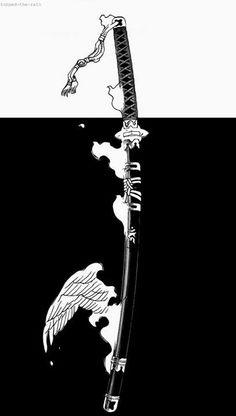 Blue Exorcist- The Demon Sword Samurai Wallpaper, Glitch Wallpaper, Dark Wallpaper, Arte Ninja, Ninja Art, Japanese Artwork, Japanese Tattoo Art, Ao No Exorcist, Blue Exorcist Anime