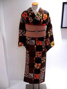 From modern kimono designer Mamechiyo Toronto Show 2006.