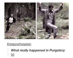 Supernatural - What really happened in Purgatory - And thee shall frolic and play