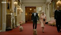 """<b>The Pembroke Welsh Corgis were featured in <a href=""""http://www.buzzfeed.com/gavon/james-bond-meets-the-queen-of-england"""">a skit</a> featuring James Bond and the Queen herself -- but no one was paying attention to those guys.</b> Some background, animated GIFs, and reactions from around the web on the Olympicorgis:"""