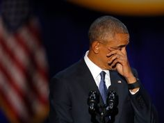 POTUS Barack Obama last speech! AP Photo/Charles Rex Arbogast
