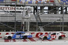 NASCAR: Chase Briscoe holds off Kyle Busch in thriller