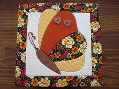 .Butterfly mug rug