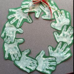 This would be really fun to do with the handprints of your whole family for your sponsored child.