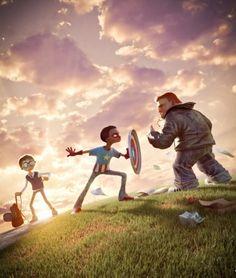 Os Personagens 3D de Victor Ugo