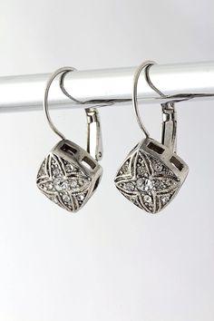 Gwyneth Crystal Earrings