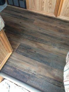 Journeyfoot RV remodel floor