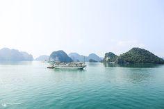 越南,下龍灣! #Vietnam #halong #bay #cruise #ferry #遊輪 #船