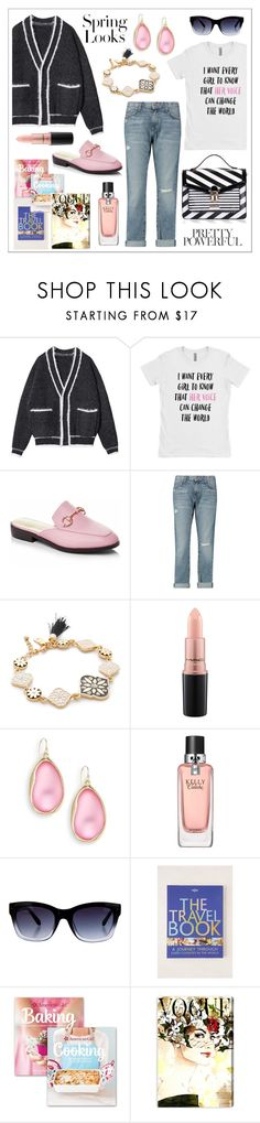"""""""for my weekend"""" by li-lac7 on Polyvore featuring мода, H&M, Current/Elliott, LYDC, Kate Spade, MAC Cosmetics, Alexis Bittar, Hermès, Lonely Planet и Williams-Sonoma"""