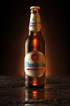 3D Munkholm Beer Bottle