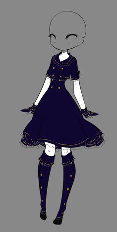 Winter Dress by rika-dono.deviantart.com on @deviantART