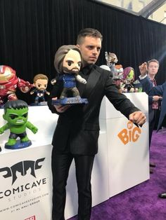The Winter Soldier / Bucky Barnes / Sebastian Stan / Infinity War 2018 Loki, Thor, Marvel Actors, Marvel Movies, Marvel Avengers, Marvel Characters, Marvel Heroes, Bucky Barnes, Tom Hiddleston
