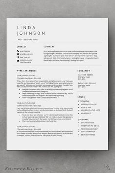 Are you looking for a editable resume example? Sign up for our job hunting ideas and download this examples for free. You can easily adjust it in Microsoft Word or Pages. Modern Resume Template, Business Plan Template, Resume Template Free, Basic Resume Examples, Simple Resume, Nursing Resume Examples, Administrative Assistant Resume, Visual Resume, Sales Resume