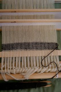 Twill on a rigid heddle loom - scroll down aways in the blog