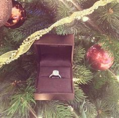 Christmas proposal idea