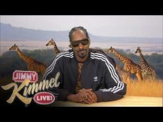 Funny Nature Show With Snoop Dogg - #funny #SnoopDogg #JimmyKimmel